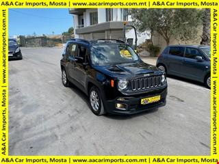 2017/'18 | JEEP RENEGADE *LONGITUDE* | REVERSE SENSORS | TOP OF THE RANGE MODEL | LOW MILES | LIKE NEW